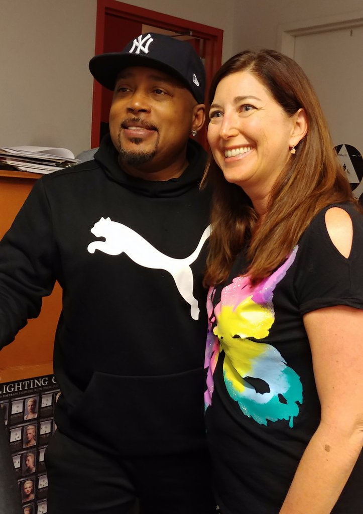 Lisa Niver with Shark Tank Star Daymond John